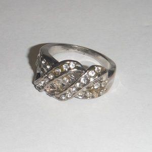 Braided Gemstones RIng